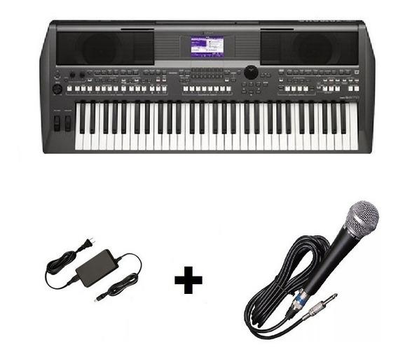 Teclado Musical S670 Yamaha Com Fonte