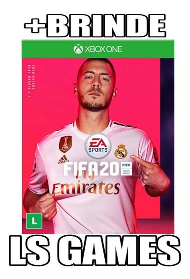 Fifa 20 Midia Digital Xbox One + Brinde