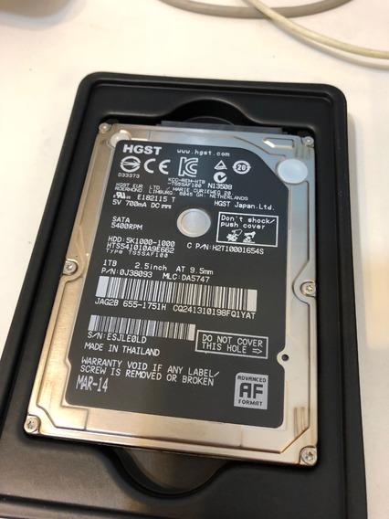 Hd iMac / Notebook / Macbook Western Digital 1tb Pouco Uso