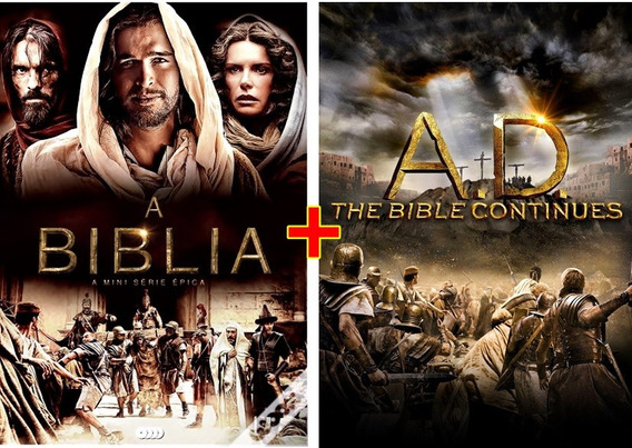 A Bíblia Série + Ad The Bible Continues Completa Dublado Leg