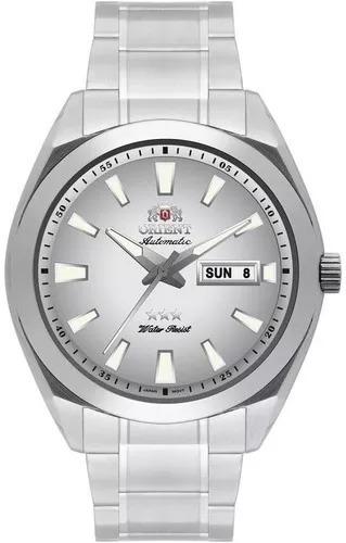 Relógio Orient Automático Masculino Cinza 469ss045 S1sx