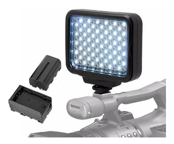 Iluminador Led Para Fotos E Video C/ Bateria - Led-5009