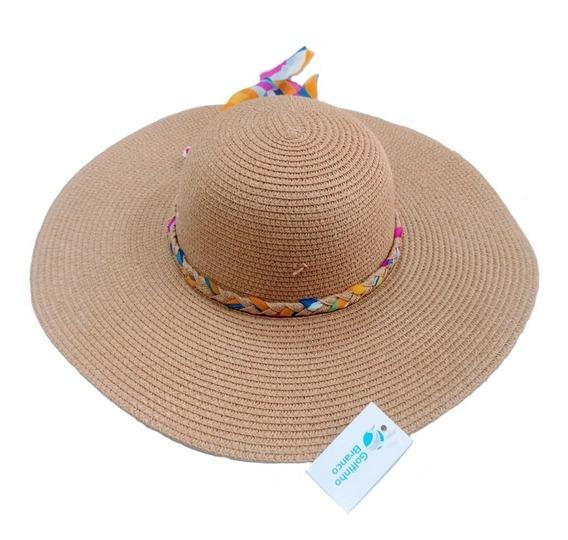 Chapéu De Palha Trançado E Com Laço Kit Com (36 Unidades)