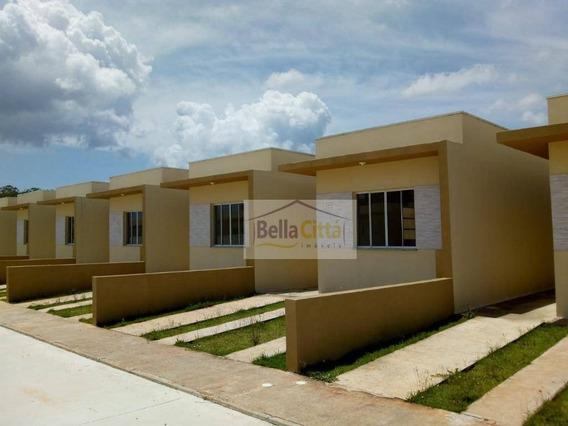 Casa Com 3 Dormitórios À Venda, 68 M² Por R$ 225.000 - Parque Olimpico - Mogi Das Cruzes/sp - Ca0586