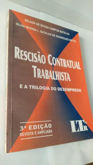 * Livro - Rescisão Contratual Trabalhista