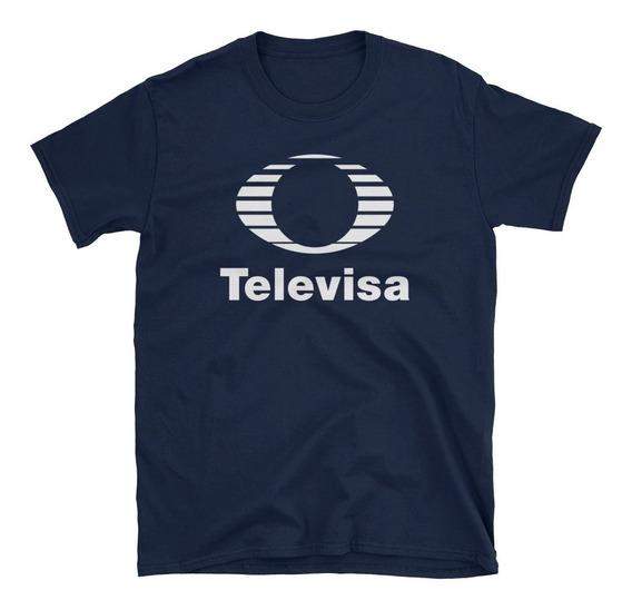 Playera Básica Televisa Azul
