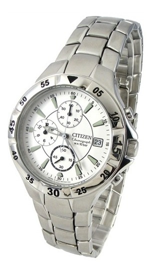 Relógio Citizen Quartz Cronógrafo Wr 100m - Sport Masculino