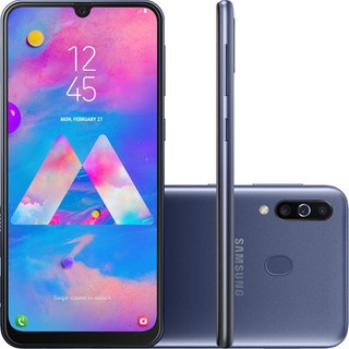 Smartphone Samsung Galaxy M30 64gb Dual Chip Android 9.0