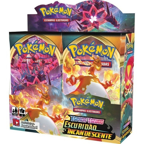 Booster Box Escuridão Incandescente - Pokémon Tcg [ee3]