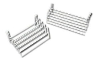 Tendedero Extensible Para Tender Ropa Ancho 45cm 10 Varillas