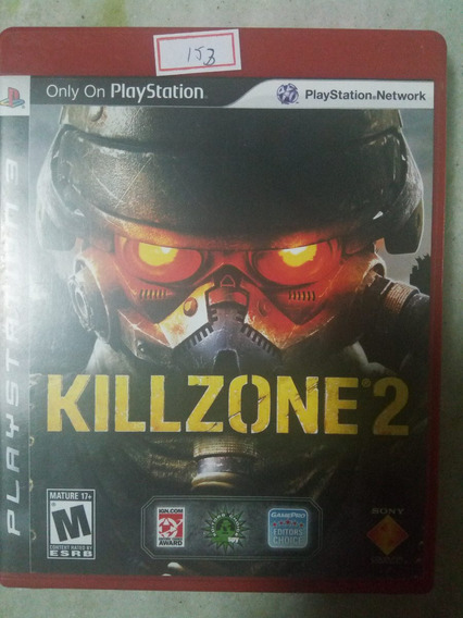 Jogo Sony Ps3 Killzone 2 Original Lote153