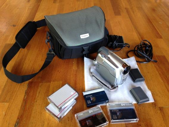 Câmera Filmadora Canon Md111 Perfeito Estado!! Impecável!