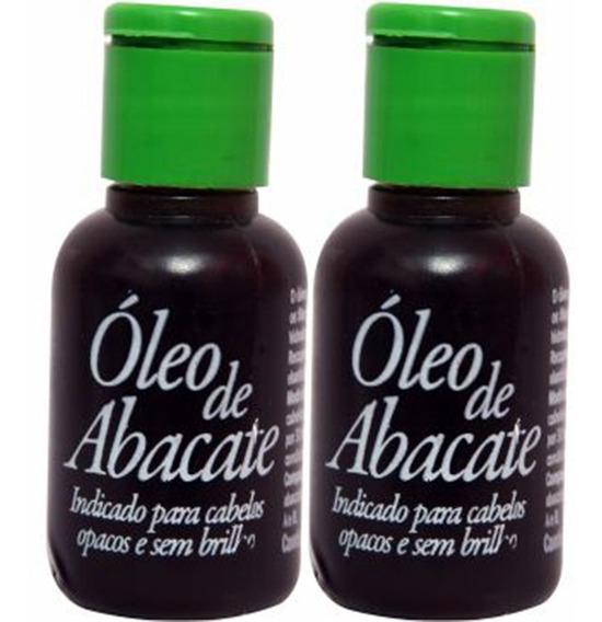 Óleo Vegetal Natural Abacate - Cabelo Seco