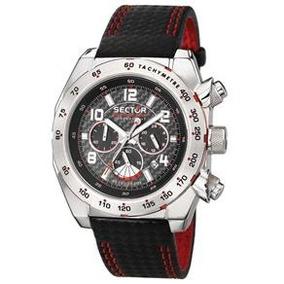 Relógio Masculino Analógico Sector Ws30072v - Preto/vermelho