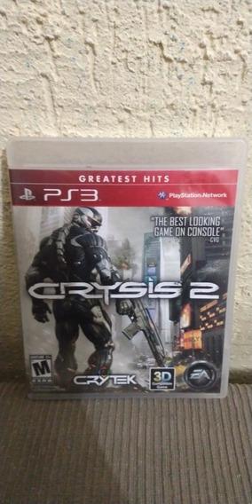 Jogo Crysis 2 Mídia Física Ps3