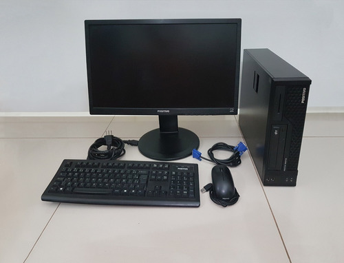 Imagem 1 de 4 de Computador Completo I3 / Memória 8gb / Hd 1tb / Monitor 21