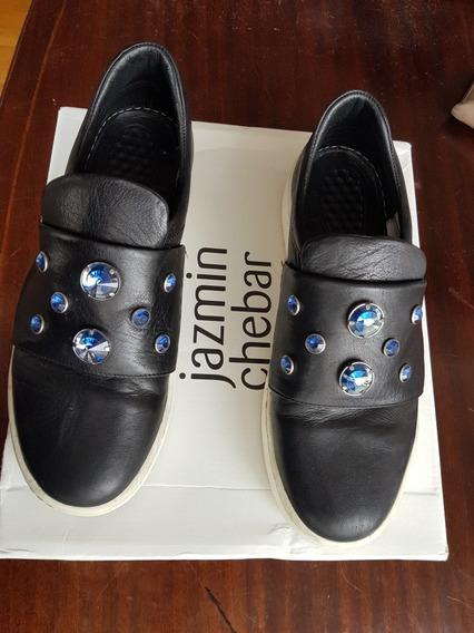 Zapatos Jazmin Chebar De Cuero