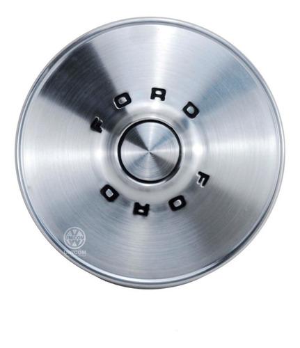 Calota Roda( Jogo Das 4 Pçs) Inox Corcel 74 Original Ford