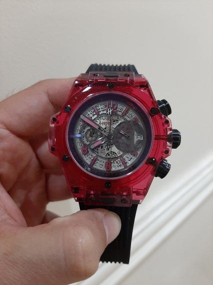 Reloj Cuarzo Big Bang Sapphire Hublot Rojo
