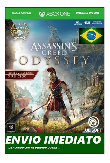 Assassins Creed Odyssey Ultimate Xbox One Midia Digital..