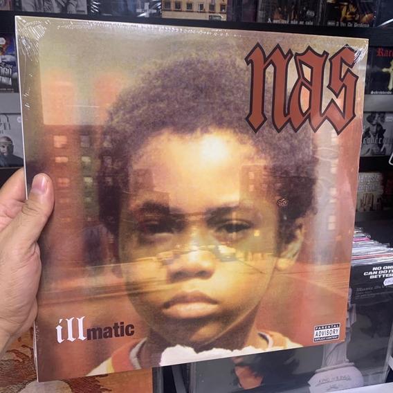 Lp Nas - Illmatic (vinyl Importado Lacrado) Frete Gratis