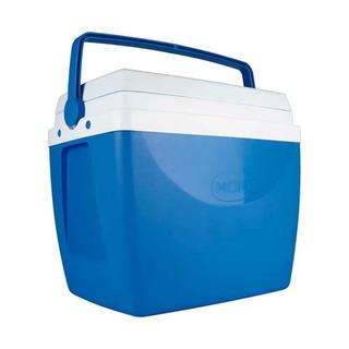 Caixa Térmica Com Alça De Mão 34 Litros Mor Azul