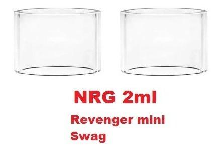 Vidro Reposição Nrg Revenger Mini E Swag 2ml - 2 Unidades