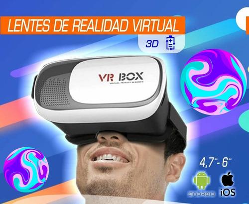 Lentes Realidad Virtual 3d Vr Box 2.0 Original Niños/adultos
