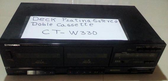 Deck Platina Estereo Ct-w330 Pioneer - ($10)