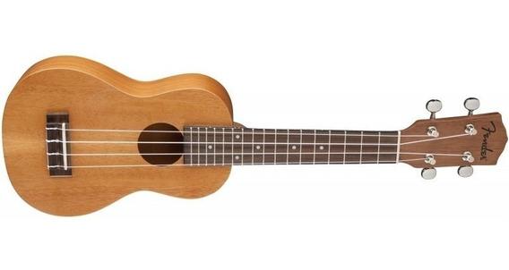 Fender Pihaeu Ukelele Soprano Caoba 095-5652-021 Piha