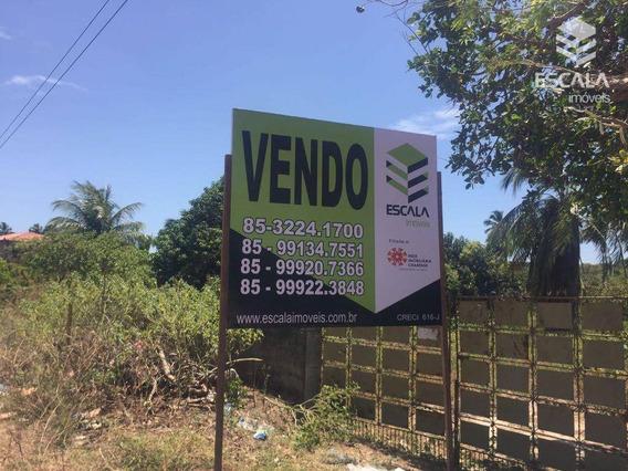 Terreno À Venda, 2520 M² Por R$ 100.000,00 - Icaraí - Caucaia/ce - Te0166