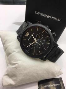 Relógio Empório Armani Black - Original