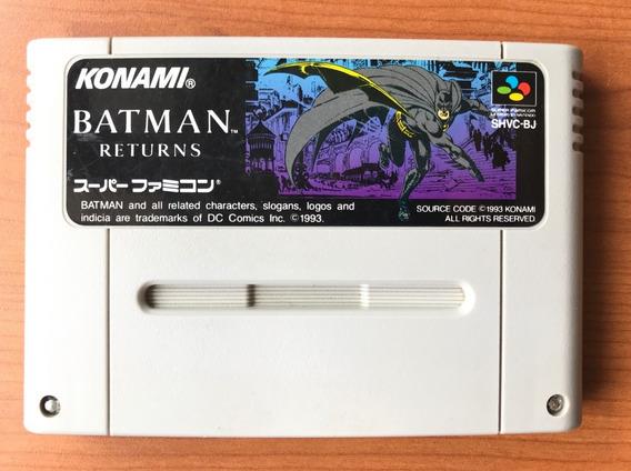 Batman Returns - Super Nintendo / Famicom Original