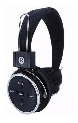 Fone De Ouvido Bluetooth Fm Sd P2 Celular Ps4