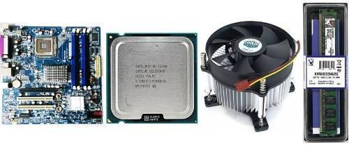 Kit Mineracao + Proc. Dual Core + Cooler + 2gb + 2 X Pci Ex