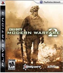 Jogo Ps3 Call Of Duty Modern Warfare 2