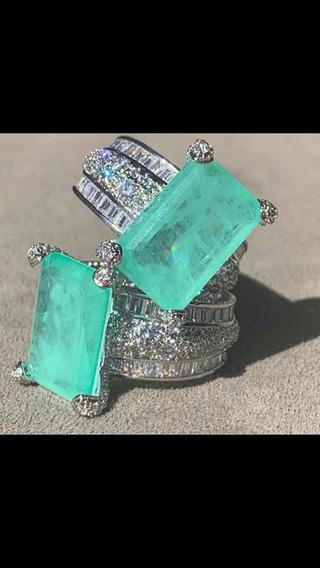 Semi Jóias De Luxo Em Pedras Fusion E Zircônias