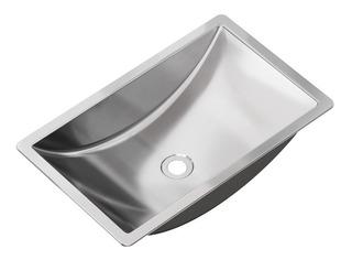 Bacha Pileta Lavatorio Baño Danna Acero 304 Johnson 60 Cm Em