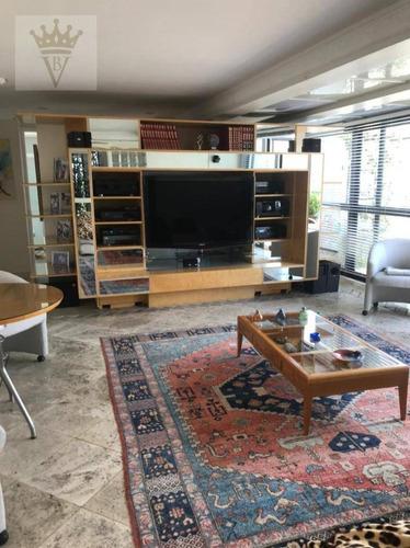 Cobertura Com 4 Dormitórios À Venda, 300 M² Por R$ 4.000.000,00 - Moema - São Paulo/sp - Co0064