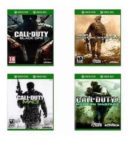 Coleção Call Of Duty Xbox One Compatível