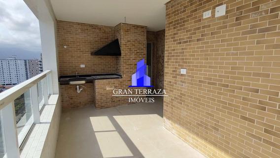 Apartamento Com 2 Dorms, Aviação, Praia Grande - V572