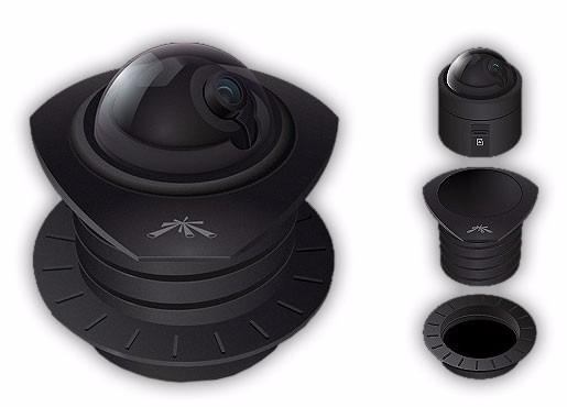 Camara Ip Aircam Dome 720p Micro Sd P/grabación Seguridad
