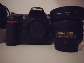 Camera Nikon D300 + Lente Nikon 35mm 1.8