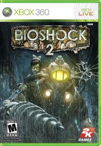 Jogo Bioshock 2 Xbox 360 Mídia Física Lacrado Original Novo