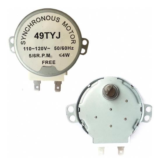 Motor Microondas 110/120v 5/6rpm Eixo Ferro