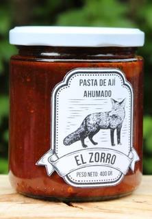 Pasta De Aji Ahumado Frasco 400 Gramos El Zorro