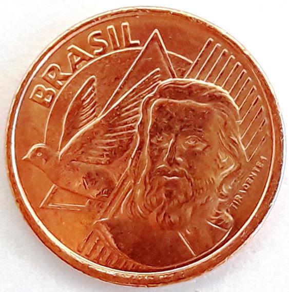 Brasil Hermosa Moneda 5 Centavos Año 2014 - Tiradentes - Unc