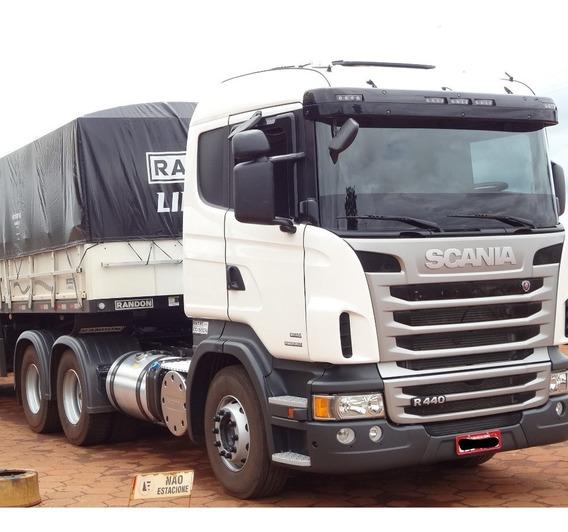 Scania R440 6x4 - Rodotrem 3x3 Noma 2005