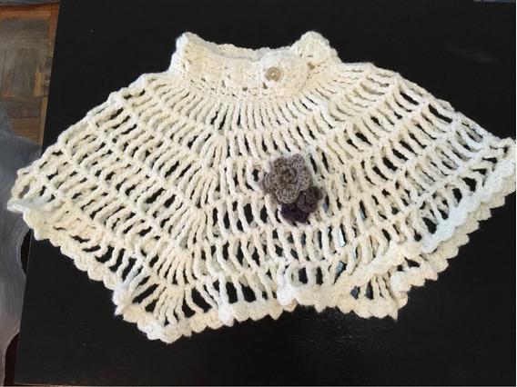 Capita Corta Al Crochet Para Niñas T. 10