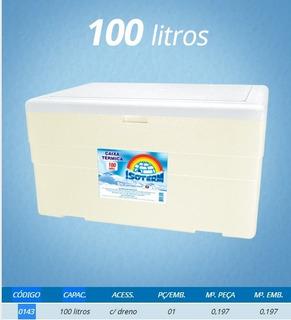 Caixa Térmica Grande Isopor 100 Litros Refrigerante